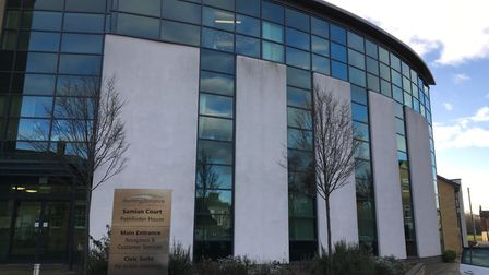 Huntingdonshire District Council's Pathfinder House in Huntingdon.