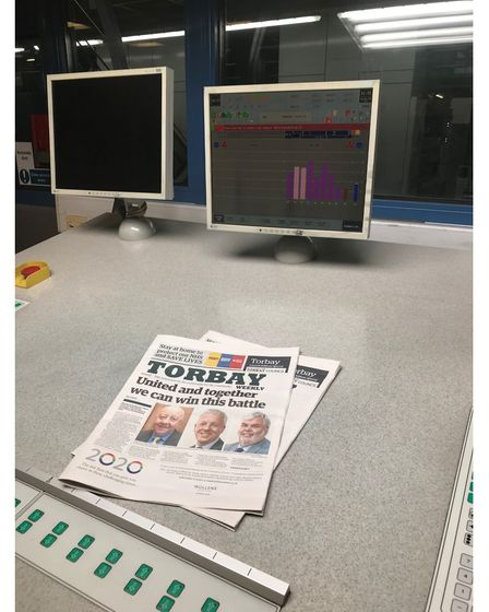 New newspaper's launch edition