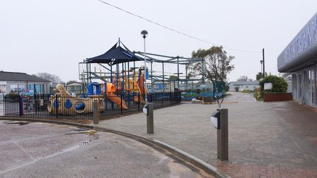 The plaza area at the Richardson's Hemsby Beach Holiday Park. Picture: DENISE BRADLEY