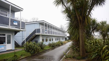 The apartments from 1975 at the Richardson's Hemsby Beach Holiday Park. Picture: DENISE BRADLEY