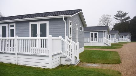 Some of the new lodges at the Richardson's Hemsby Beach Holiday Park. Picture: DENISE BRADLEY