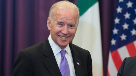 Joe Biden at the Government Buildings, Dublin, Ireland during a 2015 tour