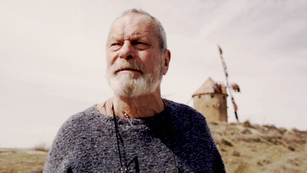 Terry Gilliam in He Dreams of Giants