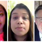 Dawn Butler, Tulip Siddiq and Barry Gardiner attend online cladding meeting