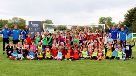 RMC Sports are running football fun days at Clevedon Town's Everyone Active Stadium