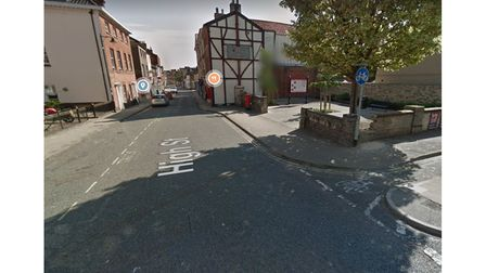 A flat on Lowestoft High Street was burgled with cash stolen.