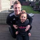Romford man pictured with daughter