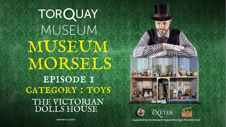 The Victorian Dolls' House is featured in the Museum Morsels series of films.