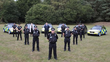 Suffolk police Sentinel team in Fast Justice on Dave