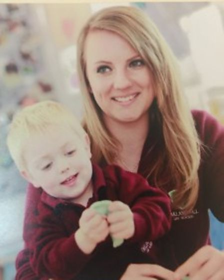 Manager Hayley Thorpe has abachelor of arts in Early Learning and has worked at the nursery since it first opened.