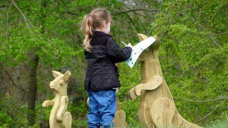Marks Hall Estate in Essex is hosting an Easter Family Trail
