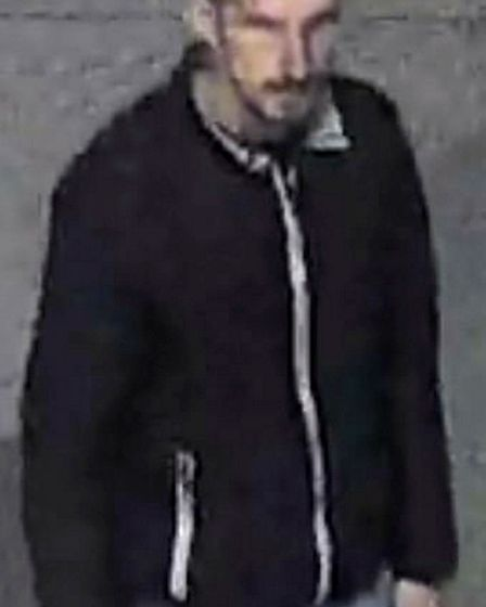 Detectives have released this image of a man they wish to speak to about a sex assault on the Regent's Canal canal towpath