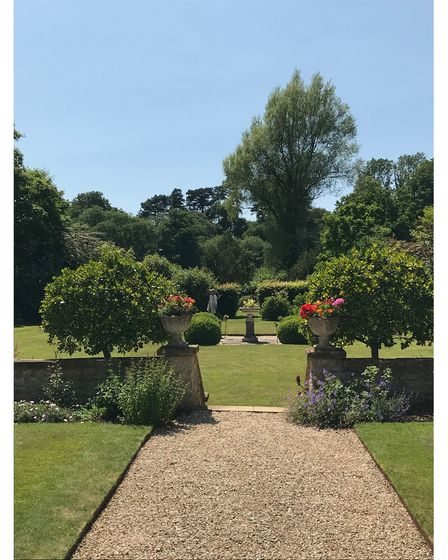 Horn Park in Beaminster, Dorset a plantsman's gardens with fabulous views