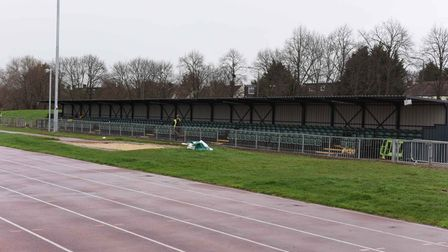 Woodford Green facility grandstand