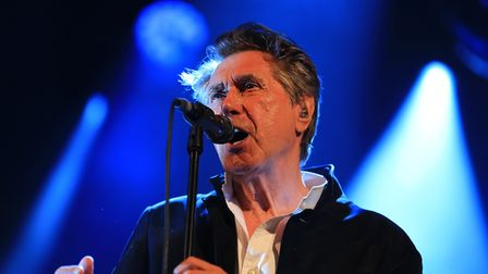 Bryan Ferry on stage. Picture: KEVIN RICHARDS