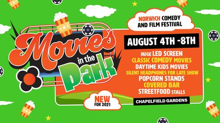 Movies in the Park.