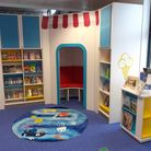 Children can look forward to spending time in a hideaway reading den at Felixstowe Library