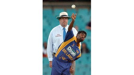Murali Muralitharan took his first wicket in 1992 aged 20