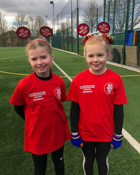 red nose day 2021 Robert Bloomfield Academy