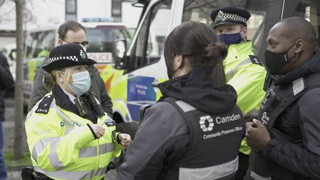 Camden police areworking with the council's safer streets team