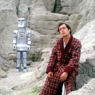 Simon Jones, as Arthur Dent in the BBC's 1981 seriesThe Hitchhiker's Guide to the Galaxy