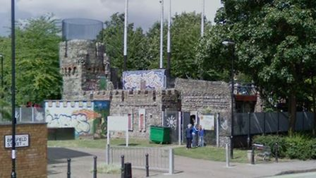 Crumble's Castle Adventure Playground in Bingfield Street
