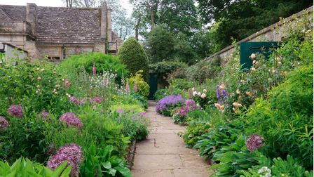 The cutting borders at Stowell Park would not look out of place in any garden