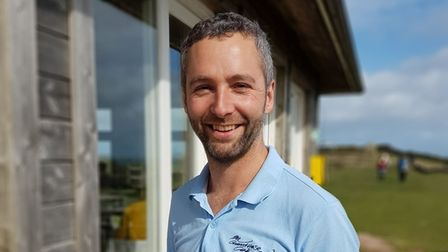 Alex Foley, owner of the Guardhouse Cafe, Berry Head, Brixham