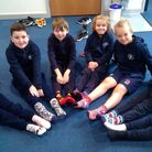 Magna Carta Academy Stansted marks the 2021 Essex Young Carers Action Day with funky socks for young carers