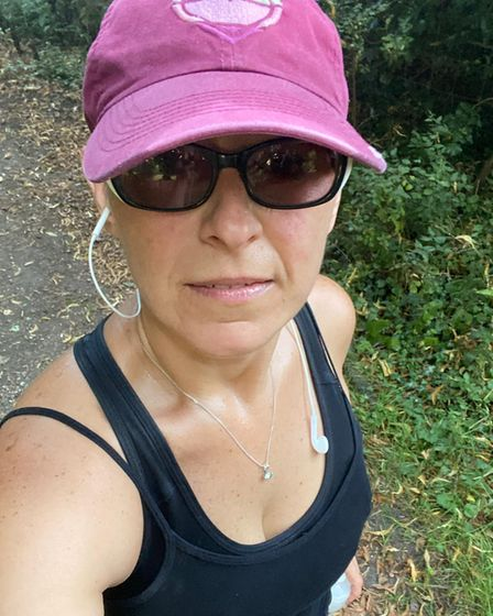 Barbra Budowski set out to run 5K a day for a year, starting on March 29 last year