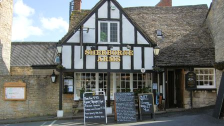 The Sherborne Arms in Northleach. Bradley was born in Sherborne, then attended the grammar school in nearby Northleach