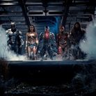 Batman, Wonder Woman, Cyborg, The Flash and Aquaman in Zack Snyder's Justice League.