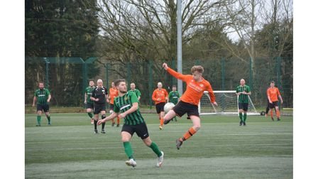 Action between Wrington Redhill Reserves and Selkirk United