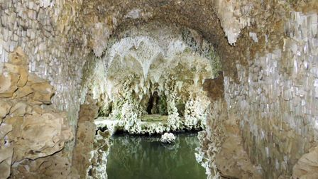 Painshill Park's Crystal Grotto