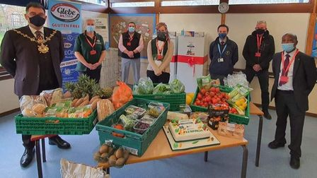 Huntingdonshire Community Group Oxmoor Community Fridge