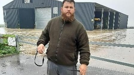 William Holmes (above) was caught red handed by the rural crime action team.
