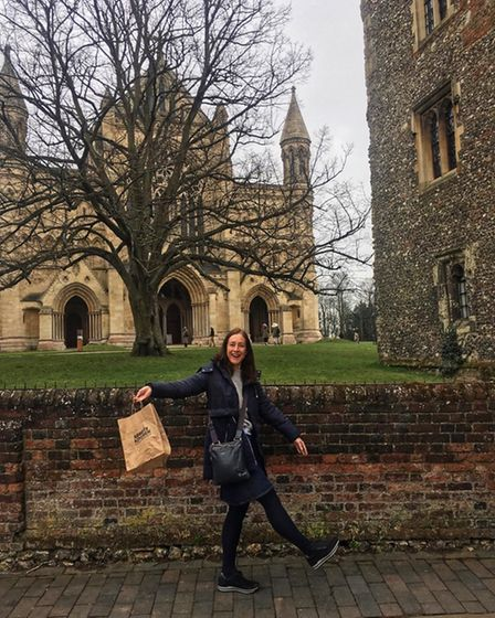 Becky Alexander has been out and about buying hot cross buns across the district.