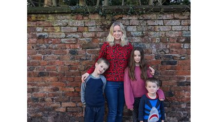 Lisa Nevin of Always On The Go and her family