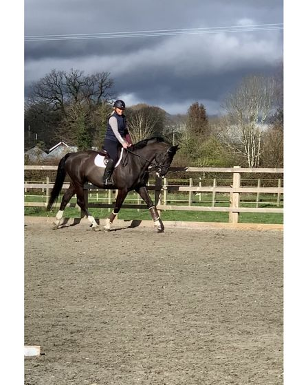 Sally and Bex Letts run the Sperrings Equestrian Centre in Clapton in Gordano