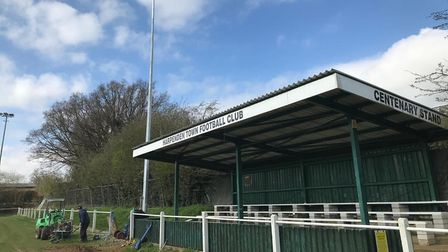 Harpenden Town FC Rothamsted Park
