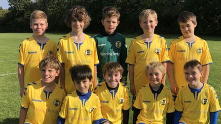 St Albans City Youth U10 South team photo