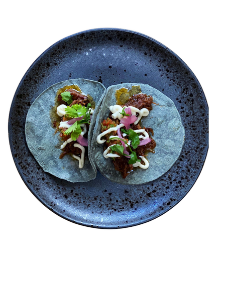Tacos are available for delivery from Thursday to Saturday each week.