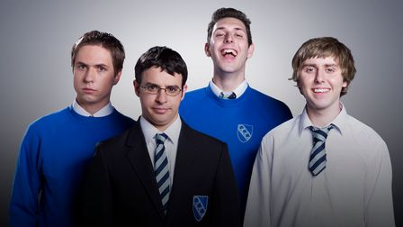 The Inbetweeners can be watched again onBritBox.