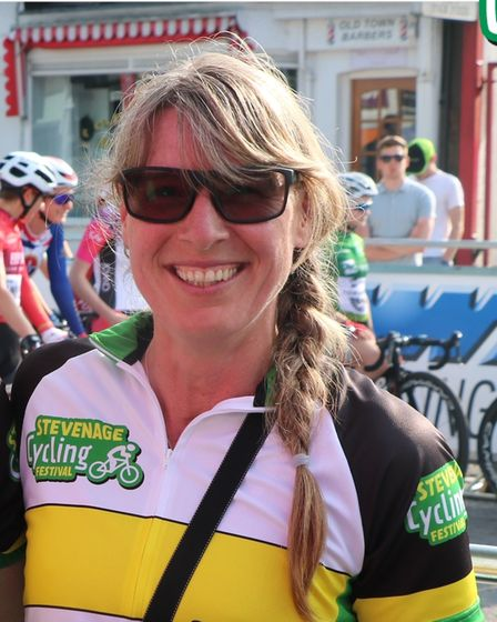 Penny Schenkel is the new leader in the Fairlands Valley Spartans virtual race round England