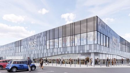 Stevenage marks and spencer