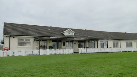 The clubhouse at Braunton Cricket Club is secluded with great views