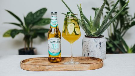 Green Heart CocktailCreated for Thatchers Cider by La Maison Wellness