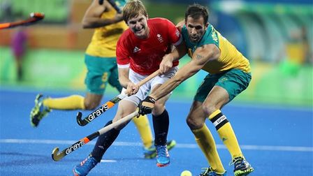 Ashley Jackson in action for his country at the Rio 2016 Olympics