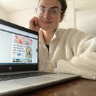 Reporter Maya Derrick has been working from home since starting her job at the Herts Ad in September