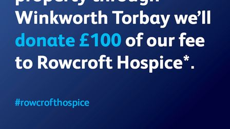Winkworth Torbay donation to Rowcroft